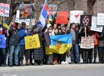 Антифашисткий митинг Торонто 23 марта 2014