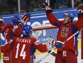 Хоккеисты сборной Чехии. Фото AFP