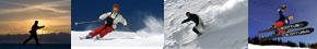 Горные и беговые лыжи в Квебеке и Монреале